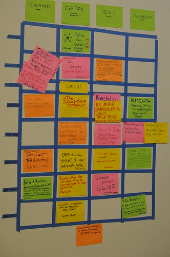IndieWebCamp 2011 Schedule | by aaronparecki