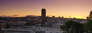 Sheffield Sunset Panorama | by Greg McMullin