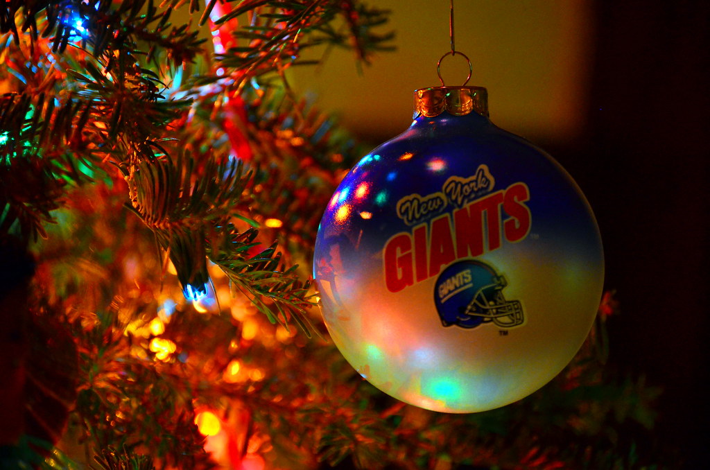 ... NY Giants christmas ornament | by gloriabcastro - NY Giants Christmas Ornament All I Want For Christmas Is A… Flickr