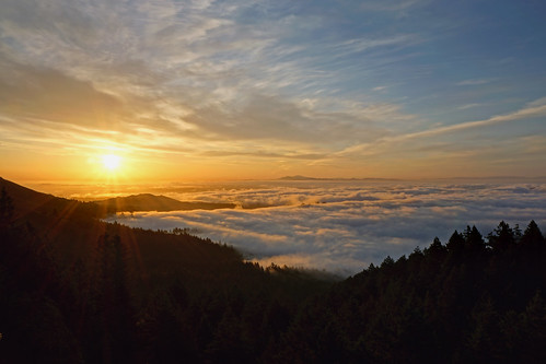 Mt. Tamalpais Sunrise - May 12, 2012 | by glassjudah