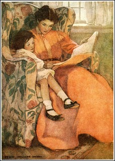 Jessie Willcox Smith 'A Rainy Day' 1908 | by Plum leaves
