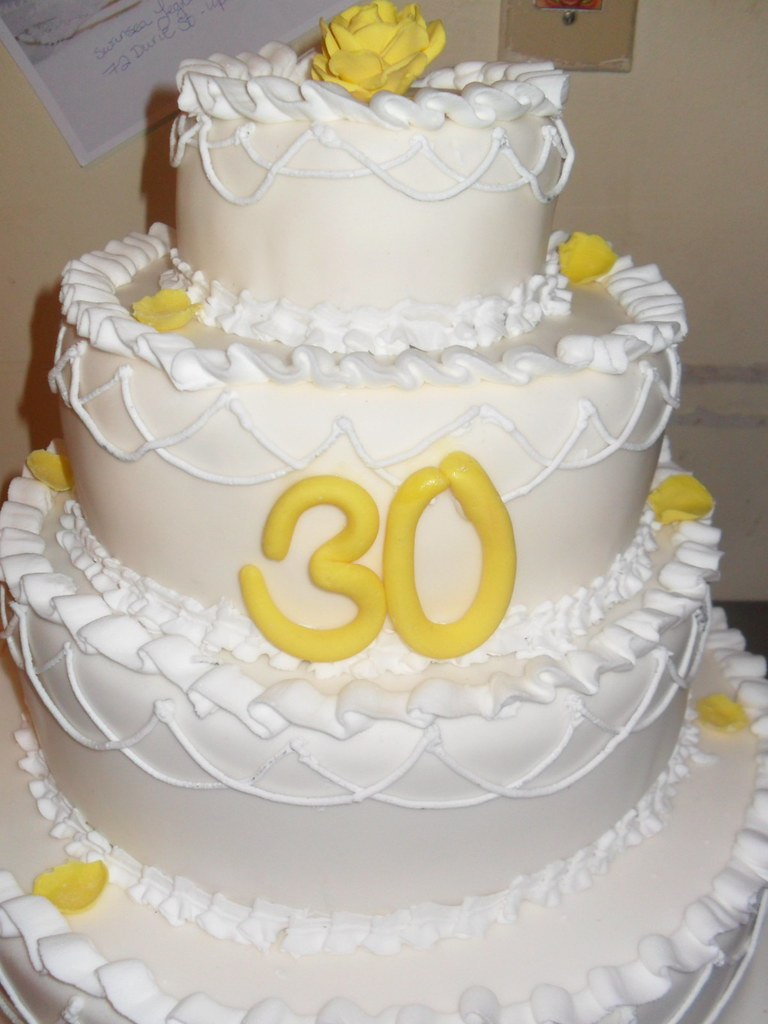 30th Wedding Anniversary Cake as per customer request | Flickr