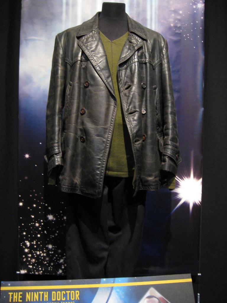 Ninth doctor leather jacket