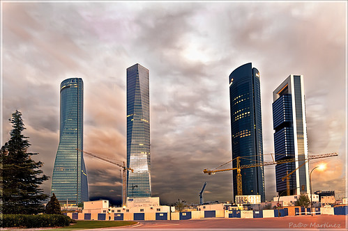 CTBA / Cuatro Torres Bussines Area (Madrid) | by paco.ghun