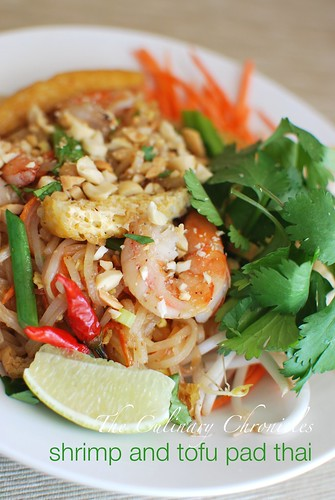 Shrimp and Tofu Pad Thai | by The Culinary Chronicles