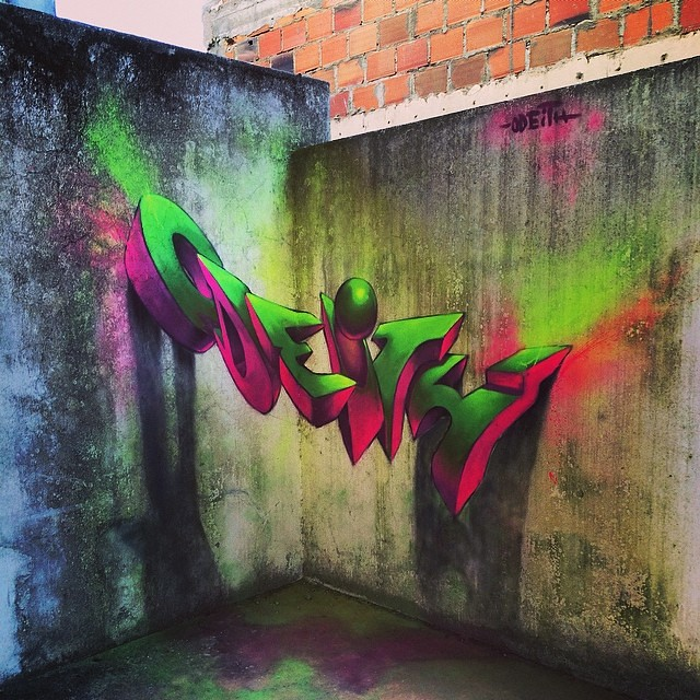Smashing Graffiti 3 Dimensional Style By Odeith His Style Flickr