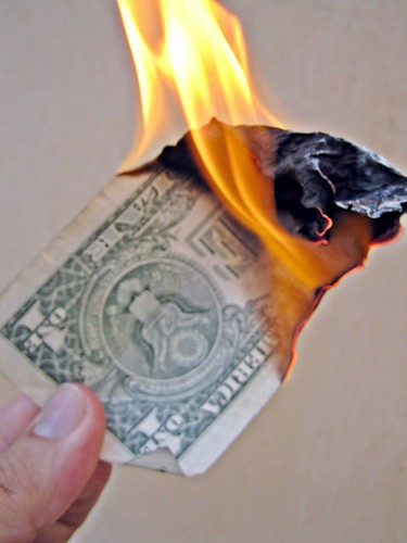 Burn Money | by Images_of_Money