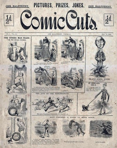 17th May 1880 - Comic Cuts published | by Bradford Timeline