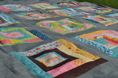 king sized flea market fancy quilt | by vickivictoria
