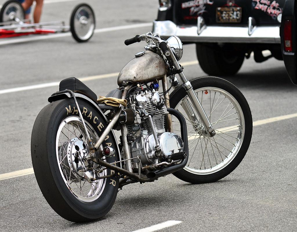 Vintage Drag Bike At The Steel In Motion Nostalgia Drag Ra Flickr
