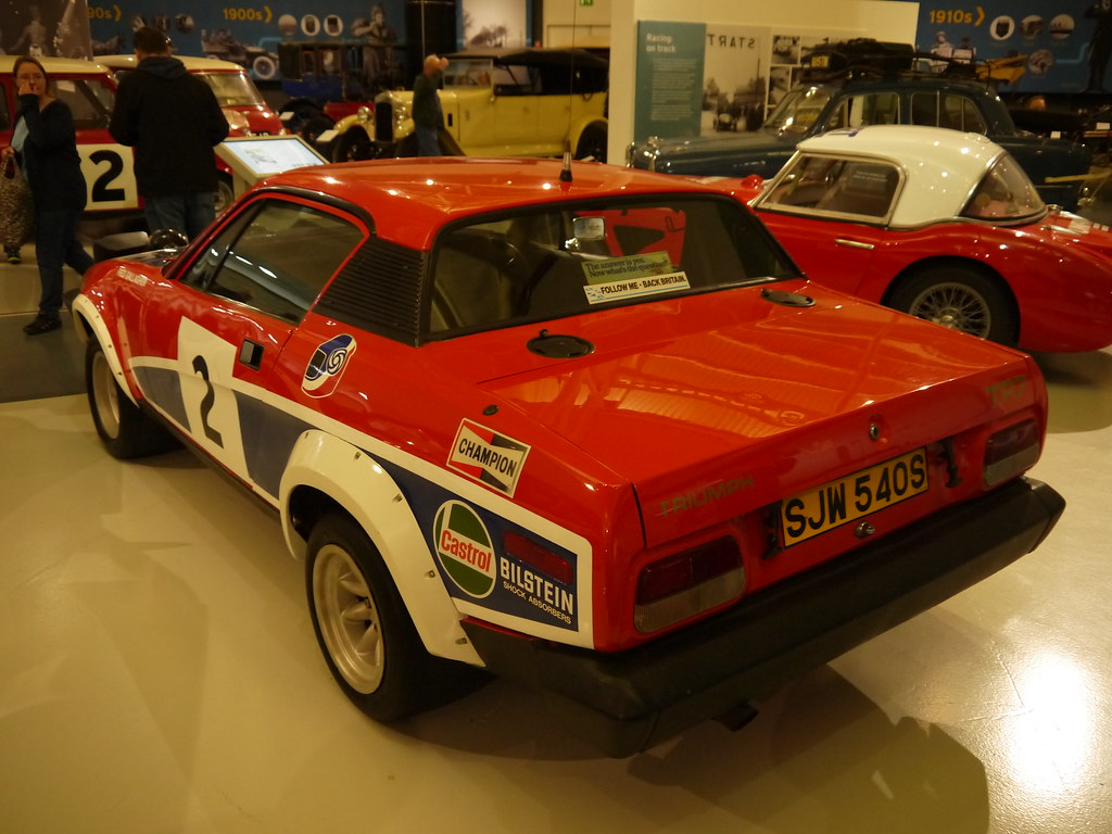 1978 Triumph TR7 V8 rally car | There are many things to que… | Flickr