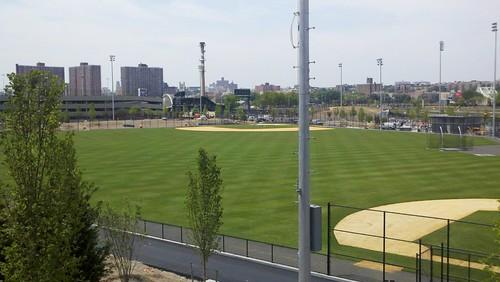 Once a ballpark, now just a park.