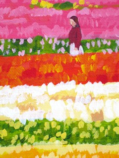 Detail- Tulip Fields II (Forever Spring) | by HMCraig Art