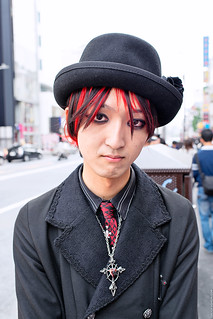 Gothic Guy in Harajuku | by tokyofashion