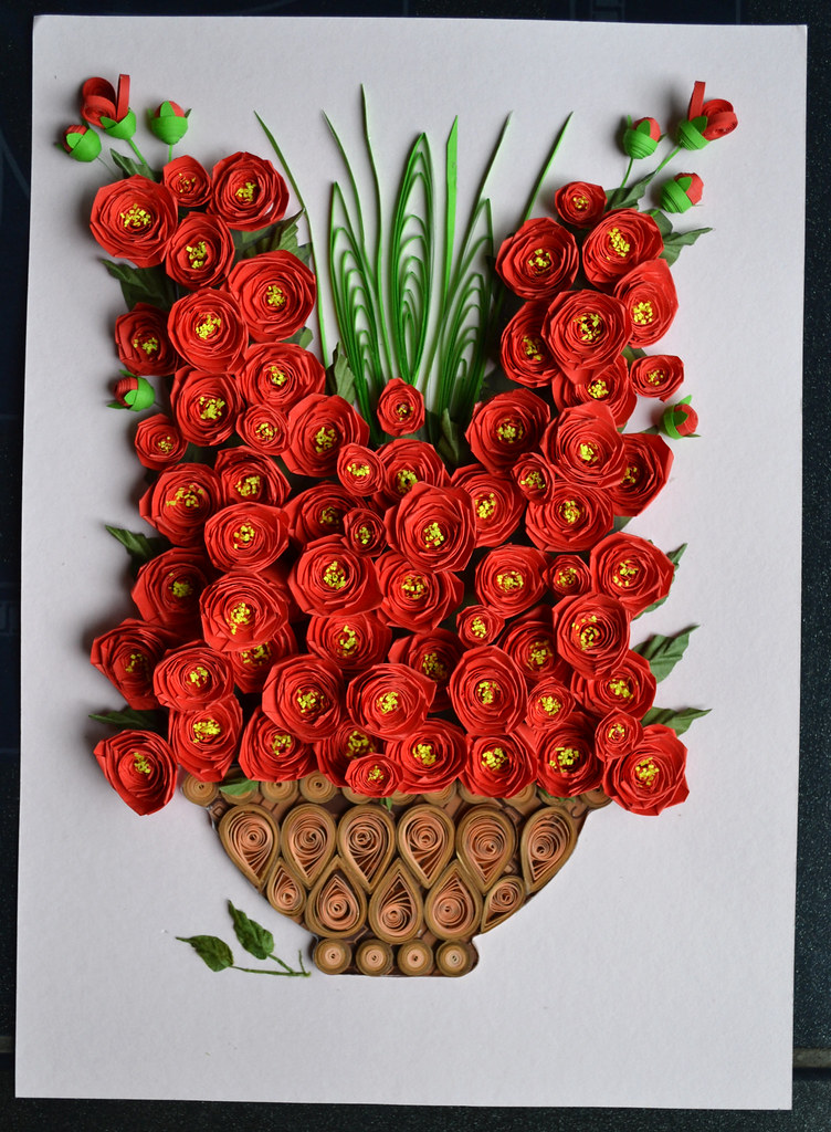 Red rose paper quilling red rose paper quilling senikr flickr red rose paper quilling by jekiyandar mightylinksfo