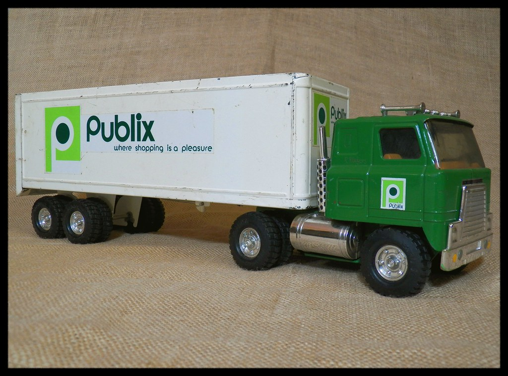 Toy Publix Truck | Cool Ebay find! When I was a kid, I had o… | Flickr