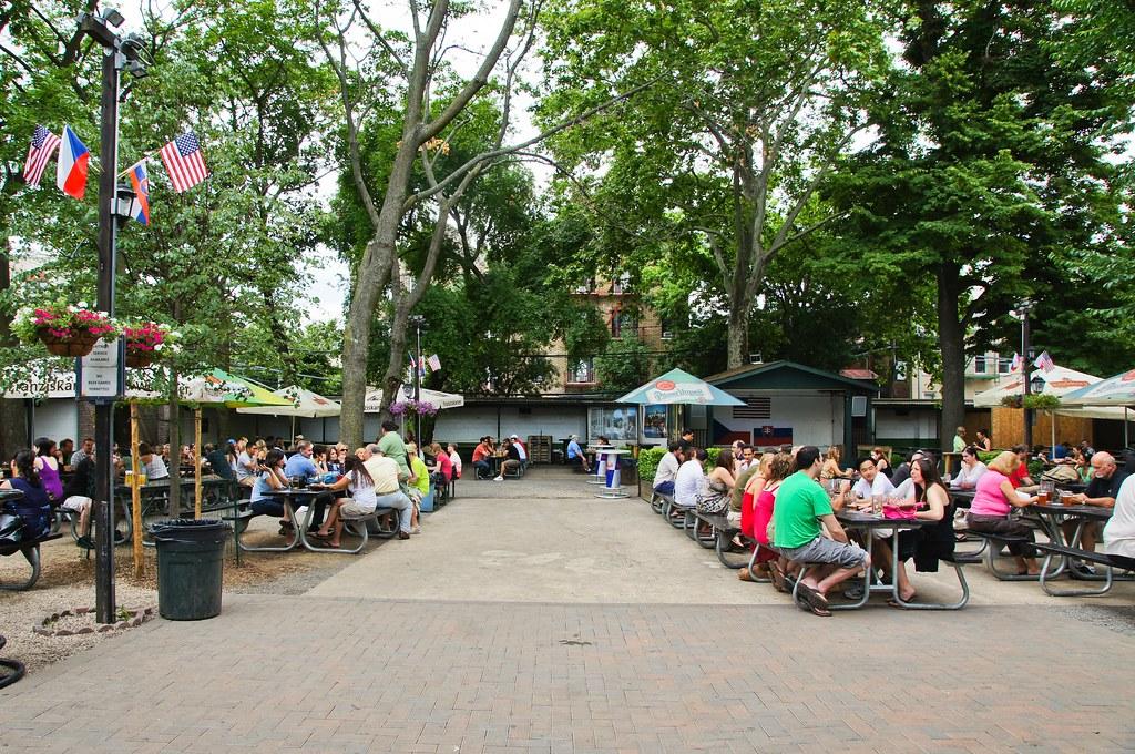 bohemian hall beer garden by harris graber - Bohemian Beer Garden