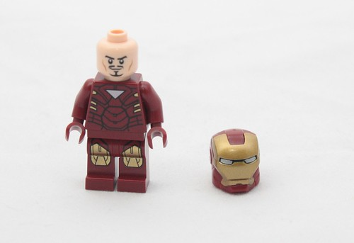 Iron Man, Alt Face Helmet Off | by fbtb