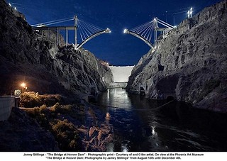 "Jamey Stillings - ""The Bridge at Hoover Dam"" 