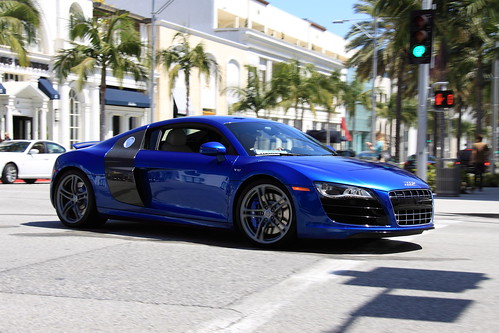 Audi R8 V10 Love This Color Combination In Beverly