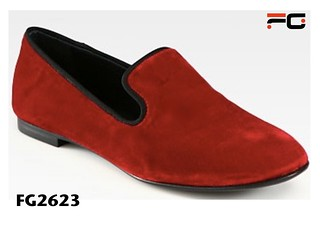 Red Velvet Shoes Mens