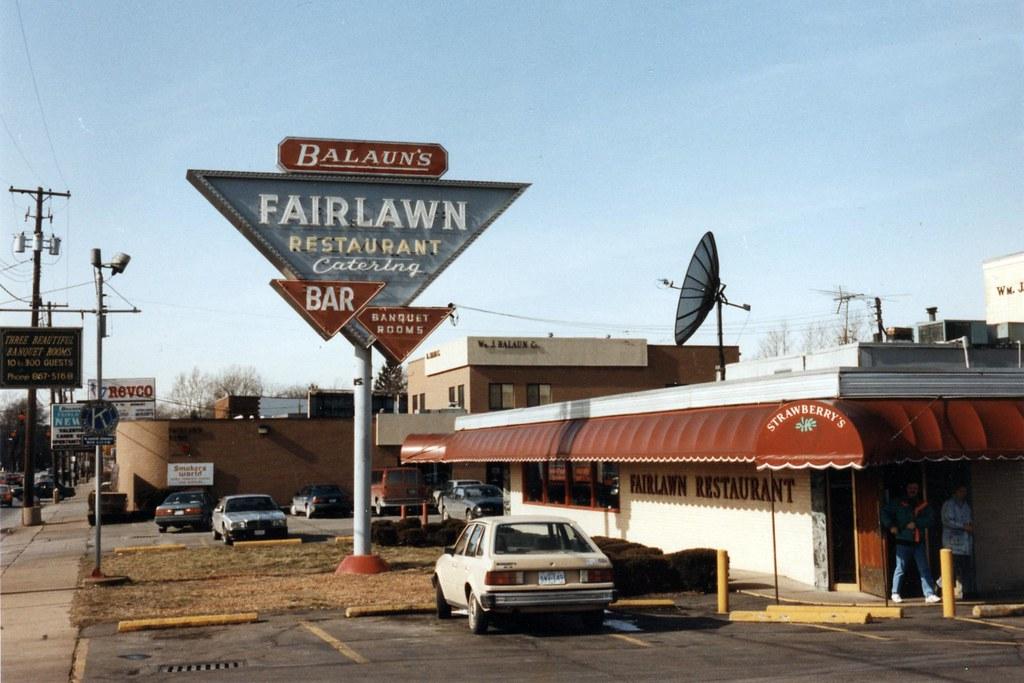 Balauns Fairlawn Restaurant My Familys Restaurant Start Flickr