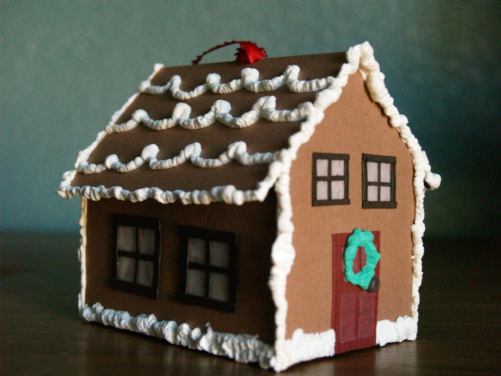 Paper Gingerbread House Reesedixon Flickr