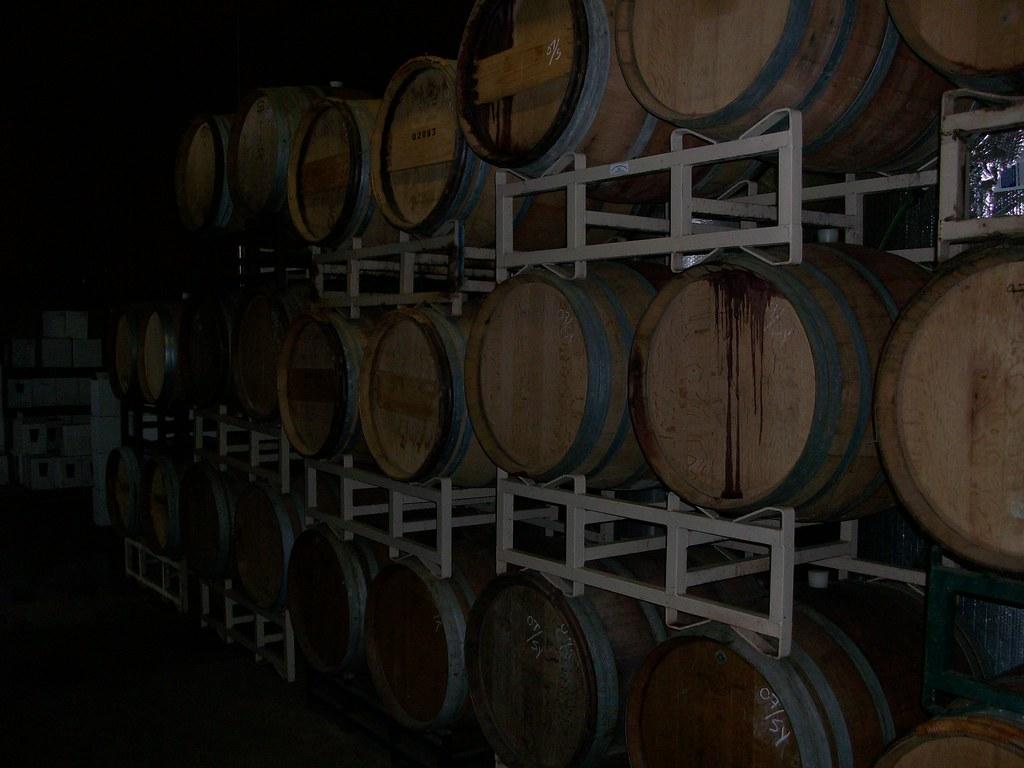 Wind River Cellars | by VinoTopics Wind River Cellars | by VinoTopics & Wind River Cellars | Barrel Room | Don [Un*Rye*N] | Flickr