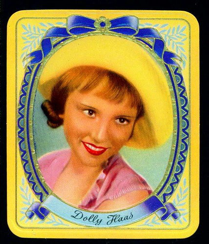 German Cigarette Card - Dolly Haas | by cigcardpix