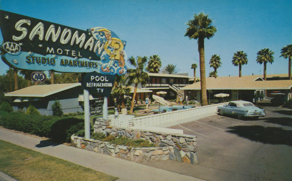 Sandman Motel - Phoenix, Arizona