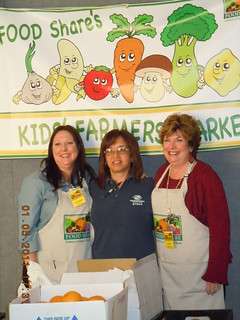 Fran McNeil, Chief Program Officer; Christina Forino, Brown Bag and Snack Attack Coordinator; LaVonne McCullough, Branch Director, Boys and Girls Club Port Hueneme Branch | by Foodshareventura