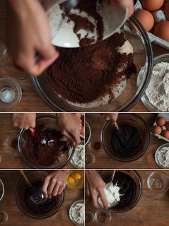 brownies prep | by TheSophisticatedGourmet