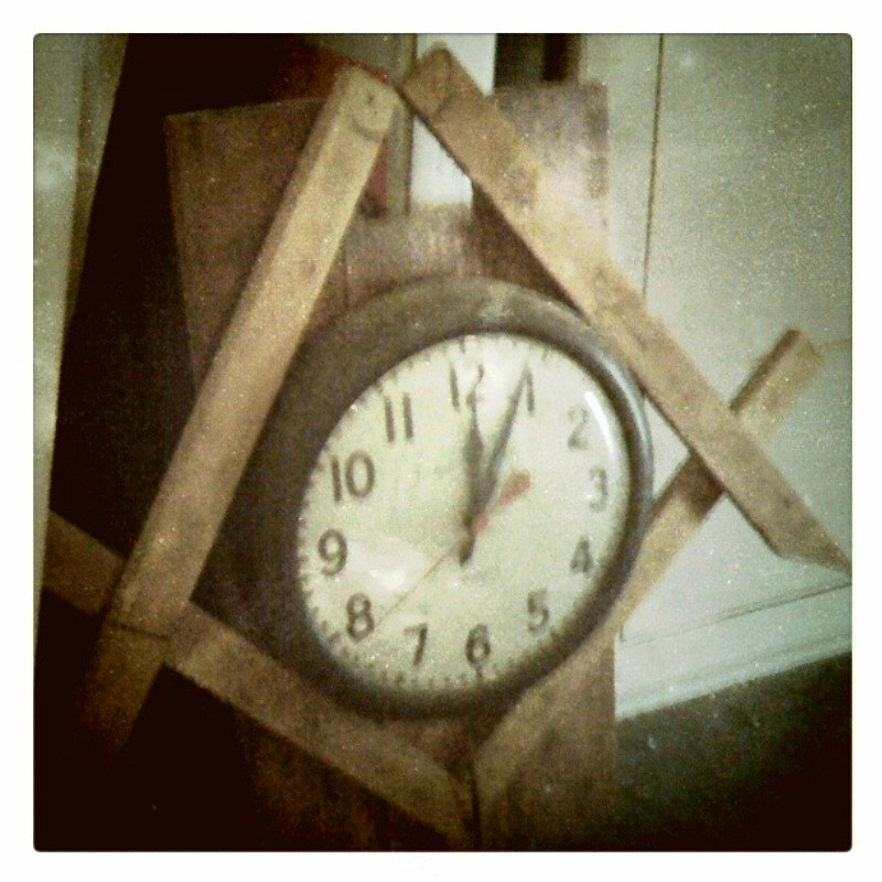 ... OldOakCliffLodge Old Clock Discovered In The Lodgeu0027s Third Floor Storage  Loft | By OldOakCliffLodge