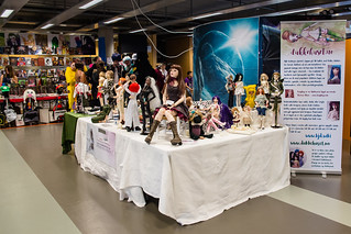 Our doll stand at Banzaicon 7 | by birdie's stuff