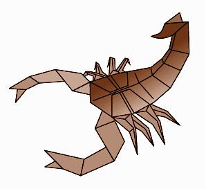 diagrames scorpion diagrams diagrams can be found on my flickr rh flickr com origami scorpion instructions robert j lang Robert J. Lang Scorpion Diagram