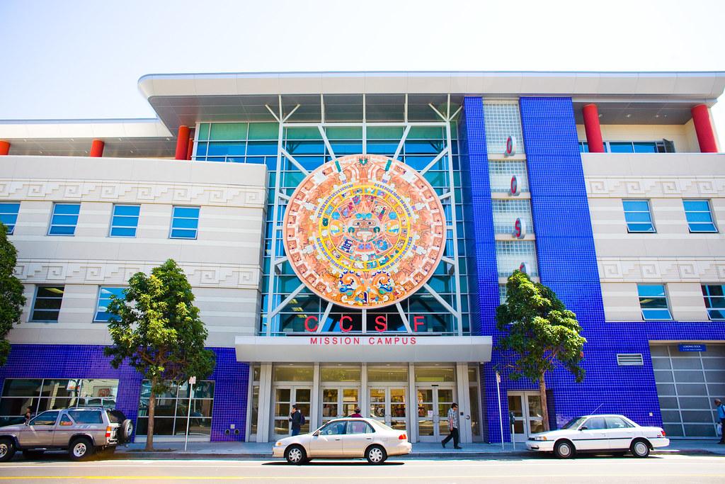 CCSF Mission Campus | Thomas Hawk | Flickr