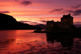 Eilean Donan Castle Sunset, Scotland | by flatworldsedge