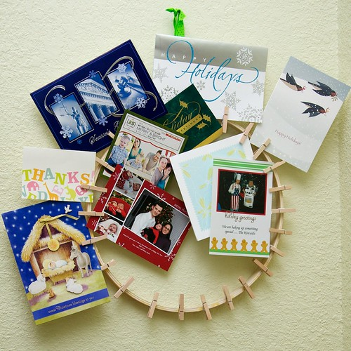Christmas Card Display | by elizabethmariecarroll