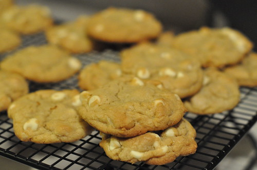 White Chocolate Chip Cookies | by sweetsauer