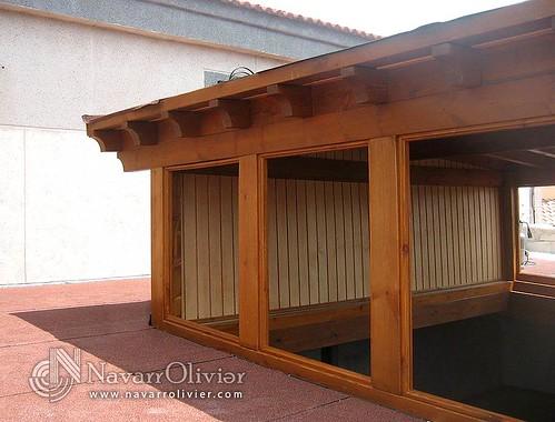 Cerramiento de madera cerramiento de madera para ampliar - Cerramiento de madera ...