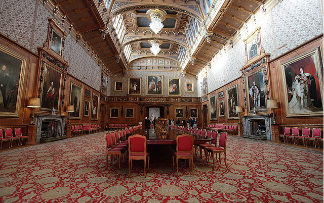 inside windsor castle biggest house in the world queen elizabeth by qualitybath - Biggest House In The World Inside