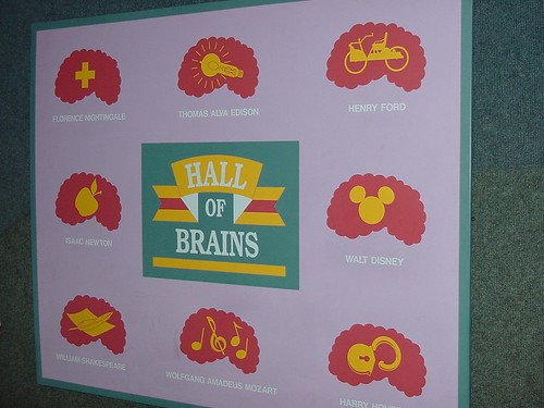 The Cranium Command Hall of Brains | by Disney, Indiana