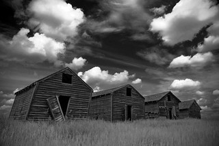 Old Sheds- B&W | by Grapefruit Moon (Barb)