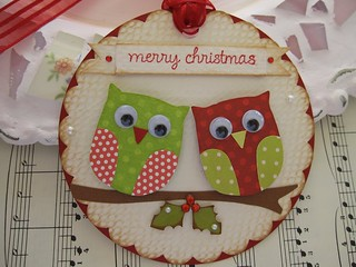 Merry Christmas Owls | by vsroses.com