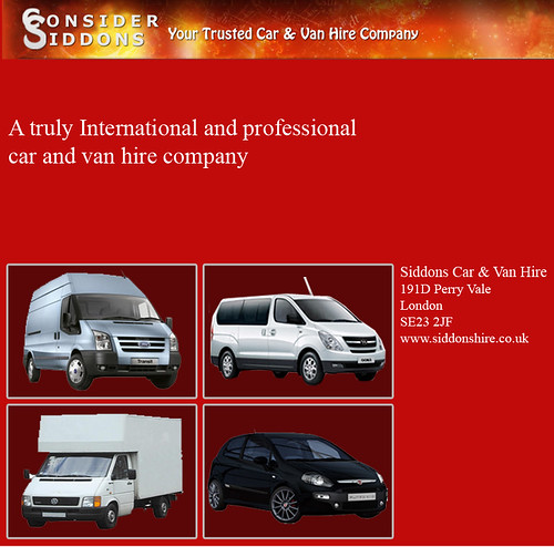Cole Hire Self Drive Vans: Cheapest Self Drive Car & Van Hire Companies In Perry Vale
