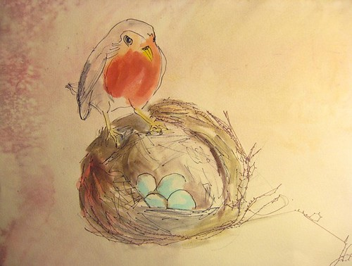 Robins Nest (detail) | by Bill the Girl