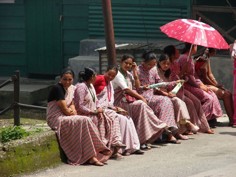 Nepali women wear - Traditional Dress