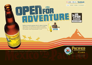 Pacifico Promotional Microsite | by justinaram