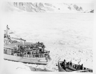 The USS Burton Island (AG-88) and the USS Edisto (AG-89) Breaking Ice | by Smithsonian Institution