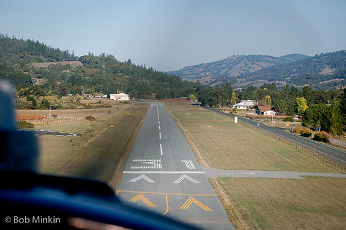 Short final for Boonville (D83) | by Bob Minkin Photography